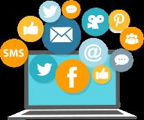 Website Page - Social Media Presence